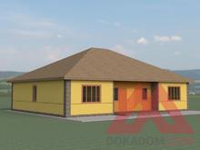 """Проект каркасного дома """"Витязь"""", 14*11, 162 кв.м."""
