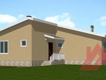"""Проект каркасного дома """"Мелодия"""", 17*12 м, 124 м.кв."""