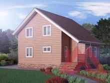 "Проект каркасного дома ""Канцлер"", 10*9 м, 140 м.кв. под ключ"