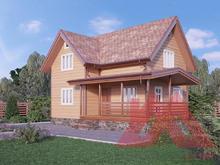 """Проект каркасного дома """"Викинг"""", 7,5*9 м, 102 кв.м."""