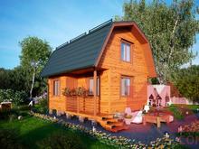 """Проект каркасного дома """"Дарина"""", 5*5,5, 42 м.кв."""