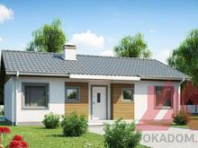 "Проект каркасного дома ""Лагуна"" 12*8, 82 м.кв."
