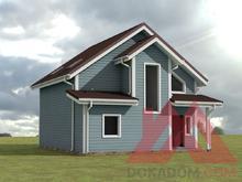 """Проект каркасного дома """"Элли"""", 8,5*9,5, 120 м.кв."""