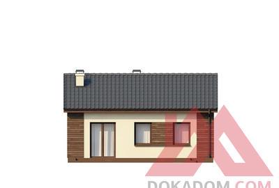 "Проект каркасного дома ""ОС-25"" 7*9, 51 м.кв."