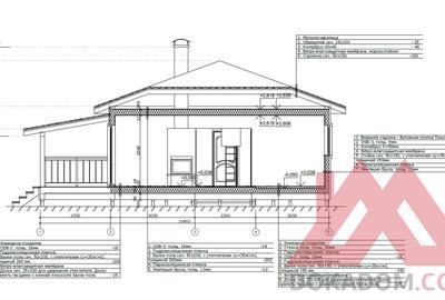 """Проект каркасного дома """"Диво"""", 9*8, 73 м.кв."""