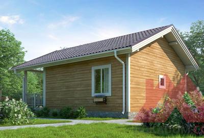 """Проект каркасного дома """"Паули-2"""", 7*9 м, 49 м.кв."""