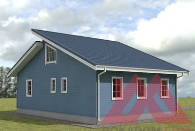 """Проект каркасного дома """"Лаура"""" 9*12, 120 м.кв."""