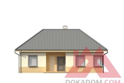 "Проект каркасного дома ""ОС-28"" 12*12,5, 110 м.кв."