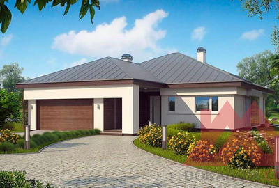 "Проект каркасного дома ""ОС-13"" 22*26, 166 м.кв."