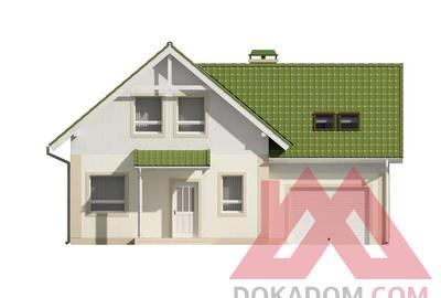 "Проект каркасного дома ""ОС-11"" 9,5*12, 139 м.кв."