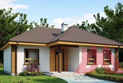 """Проект каркасного дома """"Спарк"""" 12*10, 77 м.кв."""
