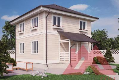 """Каркасный дом """"Тауэр"""", 9*8 м, 133 м.кв"""