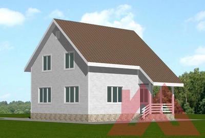 "Проект каркасного дома ""Грета"", 9*9.5, 125 м.кв."