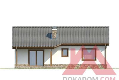 "Проект каркасного дома ""ОС-26"" 8*12, 75 м.кв."