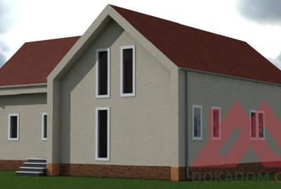"Проект каркасного дома ""Гранд"", 15,8*16,7 м, 303 м.кв"