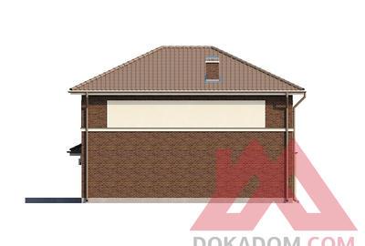 "Проект каркасного дома ""ОС-12"" 12,5*11,5, 162 м.кв."