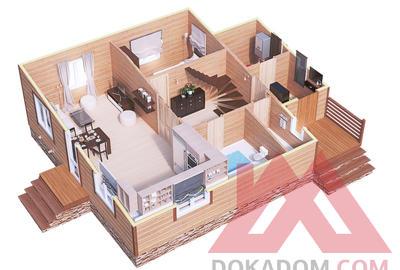 "Проект каркасного дома ""Канцлер"", 10*9 м, 140 м.кв."