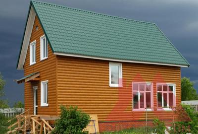 "Проект каркасного дома ""Тилбург"", 10*6 м, 105 м.кв."