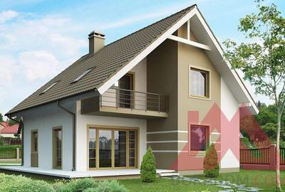 """Проект каркасного дома """"Флагман"""" 9,5*10, 130 м.кв."""