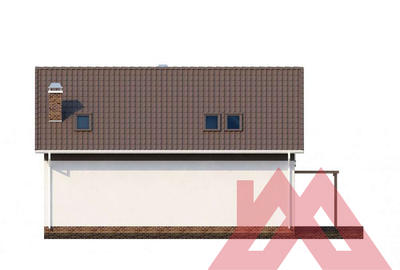 "Проект каркасного дома ""ОС-14"" 10*11, 157 м.кв."