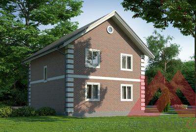 """Проект каркасного дома """"Аляска"""" 9*8 м, 120 м.кв"""