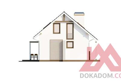 "Проект каркасного дома ""ОС-02"" 7*9, 92 м.кв."